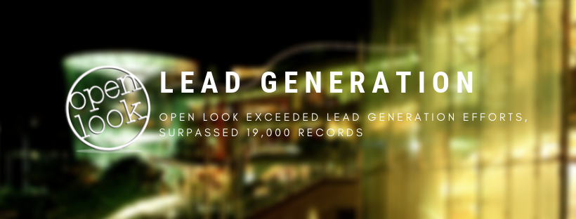 Open Look Exceeded Lead Generation Efforts, Surpassed 19,000 Records
