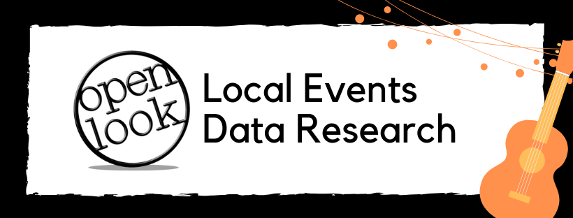local events data research and data entry