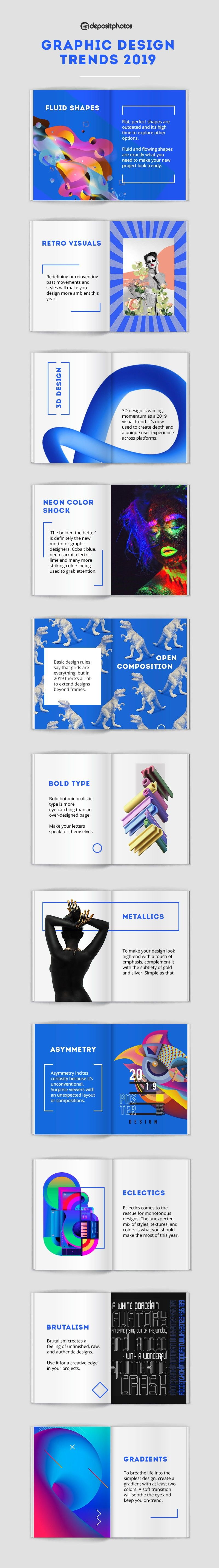 Infographic 11 Top Graphic Design Trends Open Look Business Solutions Inc